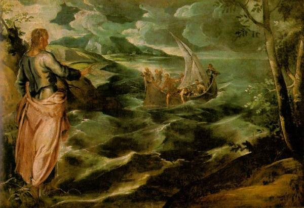 Christ at the Sea of Galilee WGA